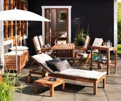 ikea garden furniture set applaro 1 table 4 chairs in