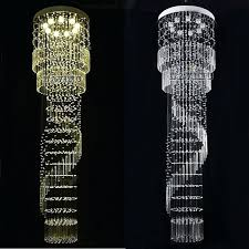 long crystal chandelier lighting extra