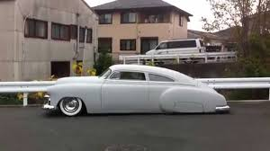 1949 Chevy Fleetline Chopped Top 1 Kustom - YouTube