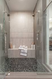 ... Marvelous Walk In Shower Heads His And Hers Shower Heads White Towel  White Shmapoo ...