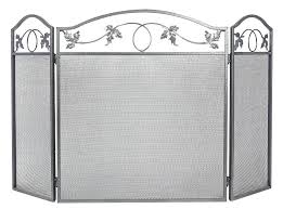 wrought iron scroll fireplace screens with doors custom panel large screen fire place cover baby proof wrought iron scroll fireplace screens
