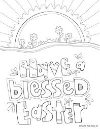 Easter Color By Number Color Pages Religious Coloring Pages
