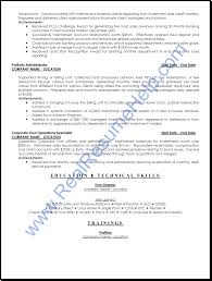 Professional Resume Help Financial Services Operation Professional Resume Sample Real 5