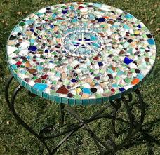 Outdoor Tile Table Top Mosaic Patio Table Lp Furniture Center