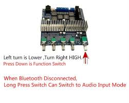 TPA3116 <b>Bluetooth</b> Amplifier <b>TPA3116D2</b> 2.1 Subwoofer Amplifier ...