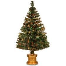 4ft 5ft 6ft 7ft BLACK WHITE GREEN LED FIBRE OPTIC CHRISTMAS TREE Black Fiber Optic Christmas Tree