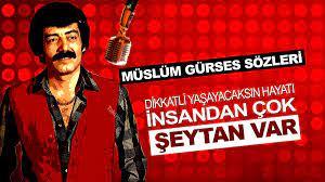 Müslüm Gürses Sözleri - Şarkılarındaki En Damar 20 Söz - Takiye.com