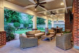 patio cover in memorial area