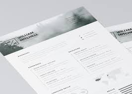 Resume Template Ai 100 Free Editable CVResume Templates for PS AI 2