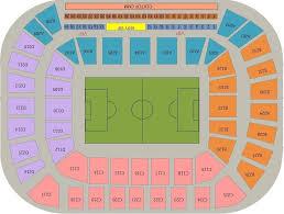 Nizhny Novgorod Stadium Tickets Information Seating Chart