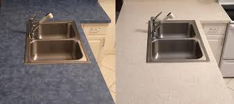 laminate kitchen countertop refinishing