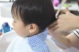 子供のセルフヘアカット赤ちゃん幼児の散髪のコツ 試してみたい