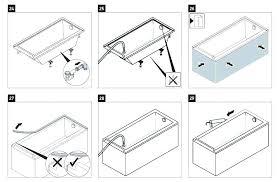 drop in tub installation bathtub installation instructions installation in tub drop tile kit bathtub faucet installation instructions