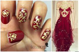 DIY Nail Ideas: Marchesa Nail Art And More Of Our Weekend ...