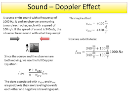 sound doppler effect example