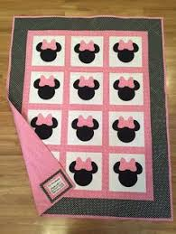 Quilting Patterns and Tutorials: Minnie Mouse Quilt - Free pattern ... & Minnie Mouse quilt! Adamdwight.com