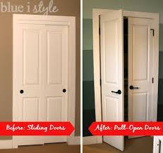 organizing with style Nursery Closet Room Closet doors and Doors