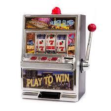 Jumbo Slot Machine Coin Savings Bank | Casino Supply