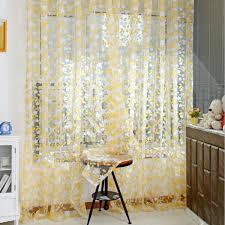 multi color tulle door window curtain balcony d