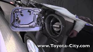2012 | Toyota | Camry | Fuel Door Release | How To by Toyota City ...