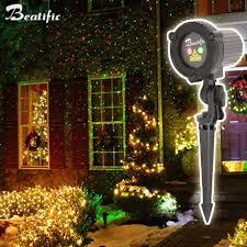Outdoor Lighting Christmas Stars Christmas Star Lights Projector Laser Shower Outdoor Red