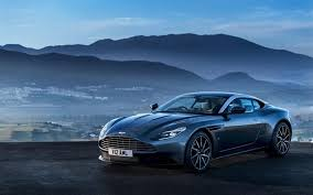 Download Wallpapers Aston Martin Db11 2017 British Sports Car Gray Db11 Sunset Evening For Desktop Free Pictures For Desktop Free
