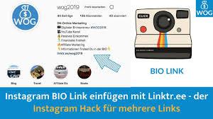 Instagram Bio Link Einfügen Mit Linktree Der Trick Für Mehrfache