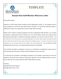 Welcome Letter Template 9 New Hire Welcome Letter Examples Pdf Examples