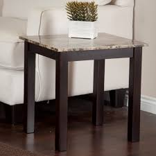 smart galassia faux marble end table hayneedle tables coffee and voguish view full size lansbury hollywood