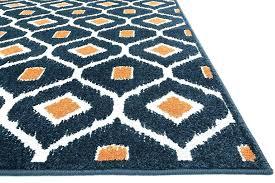 blue and white chevron area rug rugs wonderful navy orange orange and white swirl area rug