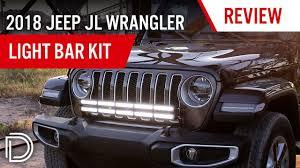 Wrangler Jl Light Bar 2018 2019 Jeep Jl Wrangler Bumper Led Light Bar Kit