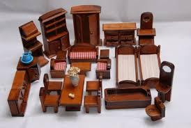 mini furniture. REDUCED Miniature Dollhouse Furniture One Inch ScaleWood Mini
