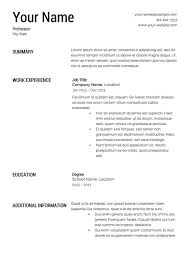 Free Blank Resume Templates Impressive Free Blank Resume Templates Download Or Printable Soaringeagle Of