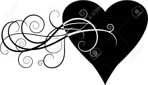 Scroll Heart Scroll Heart