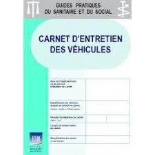 carnet d entretien des véhicules