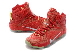 lebron shoes 12 red. nike lebron 12 new shoe red white green lebron shoes