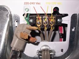 3 Prong Dryer Outlet Diagram Cord Hook Up