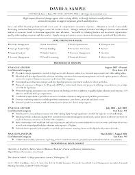 Entry Level Financial Advisor Resume Sample Resume Entry Level ...