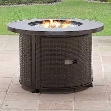 better homes and gardens colebrook 37 gas fire pit with glass beads and cover