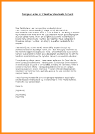 Best Solutions Of Grad School Letter Of Intent Template With