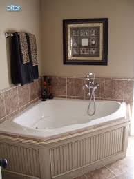 image result for tile around oval jacuzzi