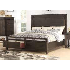 Rustic Contemporary Brown 4 Piece King Bedroom Set - Montana   RC ...