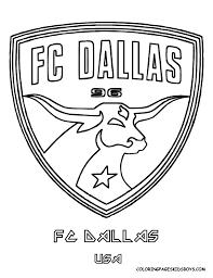 Small Picture FC Dallas Soccer Coloring Pages Pinterest Fc dallas Dallas