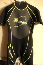 Gotcha Gear Shorty Wetsuit Scuba Dive 4 Way Stretch Mens