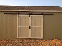 image of exterior sliding barn door hardware