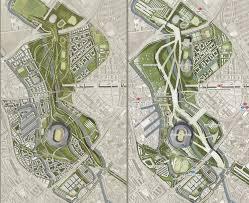 Stadium Planning Design London 2012 Legacy Master Plans Urban Design Master Plan