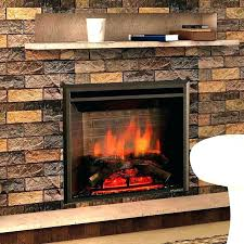 electric fireplace replacement