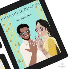40 Best Save The Date Invites For Your Indian Wedding