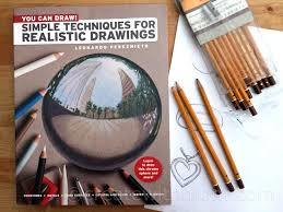 you can draw simple techniques for realistic drawings by leonardo pereznieto is a book that teaches drawing techniques of 18 accessible in depth projects