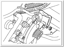 i need the routing diagram for the serpentine belt on a 2003 range graphic
